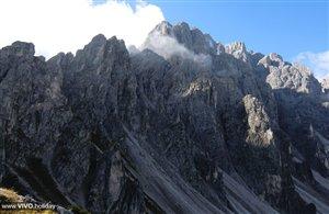 Monte Baranci nell'area vacanze Alta Pusteria