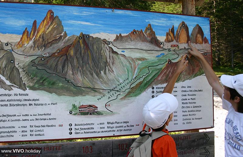 Cartina 3 Cime Di Lavaredo.Escursione Al Rifugio Locatelli Vivoaltapusteria